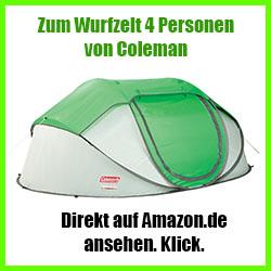 Wurfzelt 4 Personen Großes Pop Up Zelt Zelt Kaufen Testde