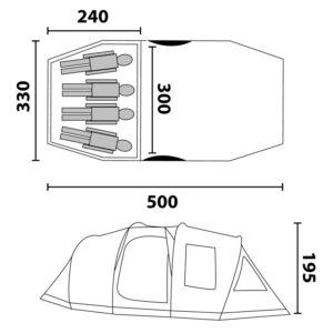 Zelt für 4 Personen 31